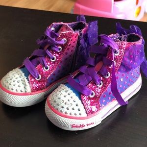 Twinkle toes Sketchers kids shoes